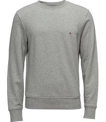 core cotton sweatshi sweat-shirt trui grijs tommy hilfiger