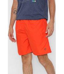 traje de baño naranja topper básico
