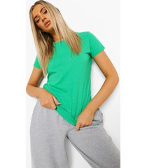 basic t-shirt, green