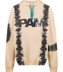 perks and mini beyond the spy tie-dye hoodie - neutrals