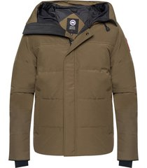 'macmillan' hooded quilted down jacket