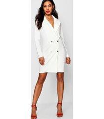 blazer jurk, wit