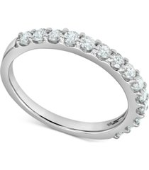 diamond wedding ring (1/4 ct. t.w.) in 14k white gold