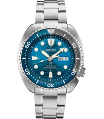 seiko men's automatic prospex divers stainless steel bracelet watch 44mm, a special edition