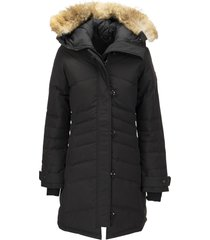 canada goose lorette - parka with hood and fur coat