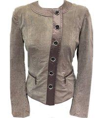 berry-jacket vest fluweel