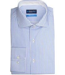 bos bright blue blue wesley dressual shirt 19306we16bo/210 l.blue licht blauw