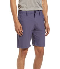 zella torrey performance shorts, size 35 in grey stone at nordstrom