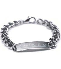 eminem stainless steel bracelet