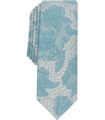 inc men's floral lace tie, created for macy's
