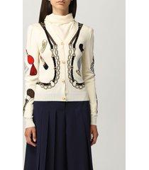 boutique moschino cardigan boutique moschino riding kit cardigan