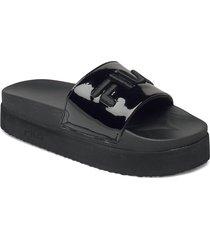 morro bay zeppa f wmn slippers tofflor svart fila