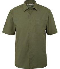 wolverine men's cooper short sleeve shirt loden, size xxl