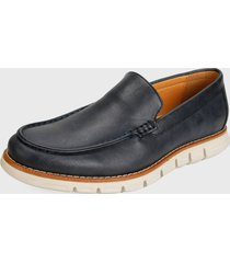 zapato casual azul oscuro nautica horce