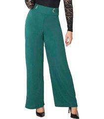 envío gratis pantalon aleja verde para mujer croydon