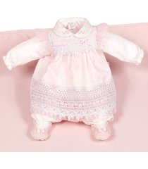saída de maternidade beth bebê letícia vestido rosa