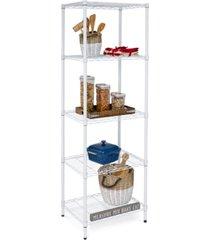 honey can do 5-tier shelving unit