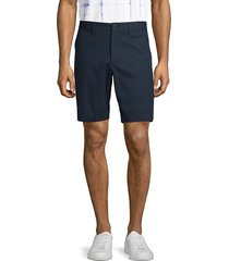 theory men's zaine slim-fit chino shorts - copper - size 33