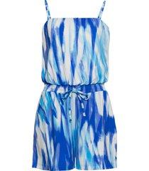 tuta corta a fascia (blu) - bodyflirt boutique