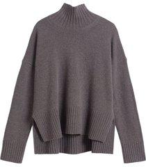 slim sleeve boxy sweater