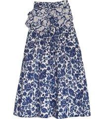 virgil skirt in floral patchwork