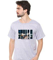 camiseta sandro clothing movement cinza - cinza - masculino - dafiti