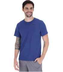 camiseta nike breathe top ss hyper dry - masculina - azul