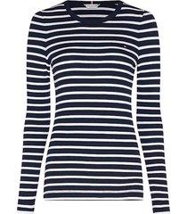 shirt skinny fit donkerblauw