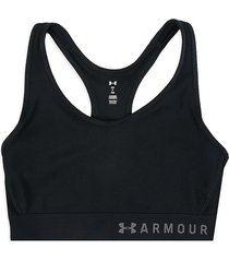 top negro under armour mid keyhole