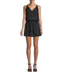 rubie tiered fit & flare dress