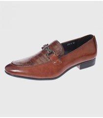 zapato de vestir café casatia