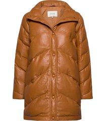 deegz jacket ma20 läderjacka skinnjacka brun gestuz