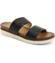 kensie women's dustie flat sandal women's shoes