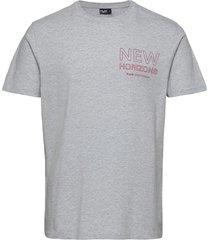 als tee t-shirts short-sleeved grå h2o