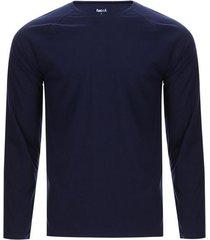 camiseta hombre descanso color azul, talla m