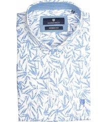 basefield casual korte mouw overhemd 219014355/100