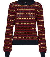 cori knit stickad tröja multi/mönstrad morris lady