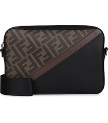 fendi camera case medium fabric shoulder bag