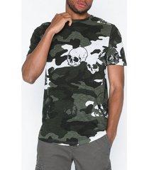 jack & jones jorgreg tee ss crew neck t-shirts & linnen mörk grön
