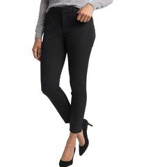 pantalon skinny ankle mujer negro gap