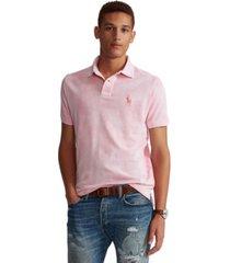 polo ralph lauren men's pink pony tie-dye polo shirt