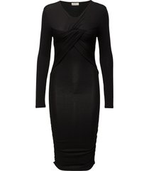 fantastique dress jurk knielengte zwart stine goya