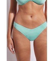 calzedonia high cut brazilian swimsuit bottom indonesia eco woman green size 4