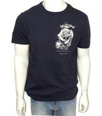 camiseta acostamento manga curta masculina - masculino