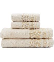 jogo de toalhas de banho 4 peças - appel - luanda - linho
