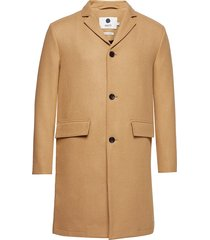 lamont 8219 outerwear coats wool coats beige nn07