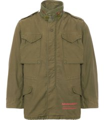 maharishi olive upcycled us army m65 jacket 6560-olv