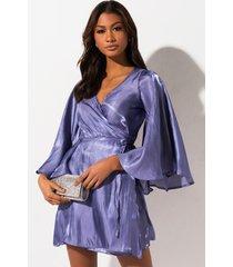 akira ur full of it bell sleeve mini dress