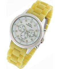 reloj amarillo montreal