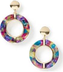 glistening rivanna drop earrings